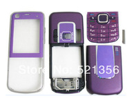 Free shipping+20pcs Full housing case faceplate keypad buttons battery cover for Nokia 6220c 6220 classic cell phone