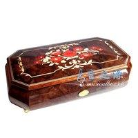 Yunsheng 78 wooden music box Christmas music box