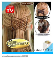 HOT AS SEEN ON TV Hair styling combs, Easy Z  hair beauty comb, Plastic Hair clips, TV hair tool.