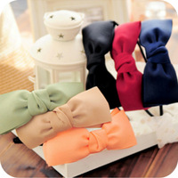 Free Shipping Fashion Korea original Korean ribbon big bowknot hairpin hairpin head headband small ornaments 5pcs/lot