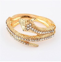2014 New fashion flash diamond snake bracelet cxt90184