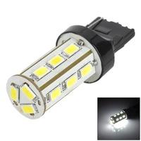 YT1311286 T20 8W 420lm 6500K 18 SMD 5730 LED White Light Car Bulb - Yellow + Black + White