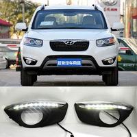 HOT !!! selling 2010-2012 New SantaFe original position high power LED daytime running light or lamp (DRL)
