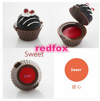 Cupcake Lipgloss! Wholesale Free/Drop Shipping! Cute Makeup, Novel Lipgloss From Redfox