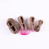 123mm coarse knitted hemp rope clip rope handmade hemp rope