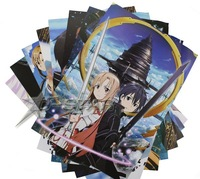 DHL Shipping 60 sets 480pcs Sword Art Online SAO Anime High Quality Embossing Posters Poster (8pcs per set)