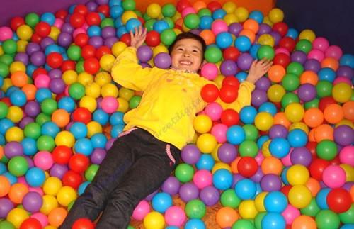 C18 50pcs Colorful Ball Fun Ball Soft Plastic Ocean Ball Baby Kid Toy Swim Pit Toy(China (Mainland))
