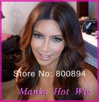 DHL free shipping 100% brazilian virgin hair front lace wig & full lace wig human hair wigs lace wigs for black women