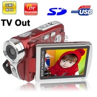 DV008 5.0 Mega Pixels Digital Video Camera Camcorder with 2.8 inch TFT LCD Screen Support Super Night Shot TV Out