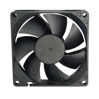 CoolCox 80x80x20mm DC fan,CC8020M24B,  DC brushless fan,DC Axial fan,8020 cooling fan,ball bearing,2510-3P connector