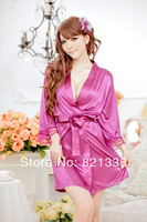 women sexy sleepwear temptation lace corset adult wear underwear three-piece 5 colors black white purple pink blue top quality