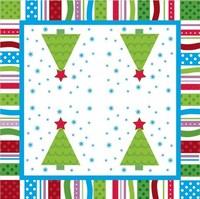 Multicolour christmas table napkin paper christmas tissue christmas gift print tissue table napkin paper christmas tree a113