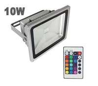 good quality 10pcs*10W led rgb floodlight +24key controller ,warm white,cool white,landscape light outdoor light