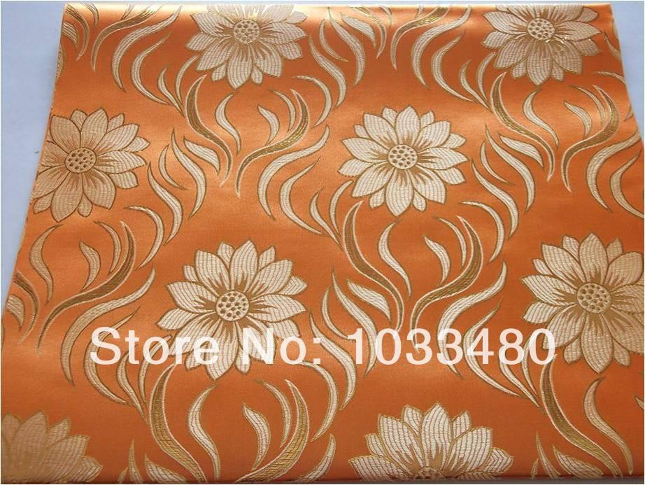 2014 pattern orange color free shipping african,gele,super jubilee sego head tie,2pcs/set,10sets/pack()