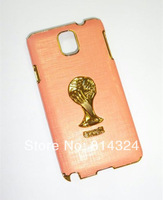 Best Quality  football Cup picture Case for Samsung  Galaxy Note 3 N9000 Free Shipping