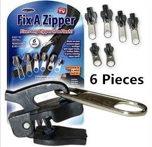6pcs/pack Fix A Zipper Magic Zipper Fix Any Zipper Quickly Instant Zipper X1211(China (Mainland))