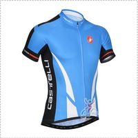 2014 New Arrival Castelli  Men Bicycle Racing Jersey Cycling Pro Team Clothes Bike Clothing Short Sleeve Shirt Bicycle Sportwear