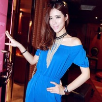 2014 Hot Sale Fashion Elegant Alloy Long Tassel Fringe Chains Necklace For Women