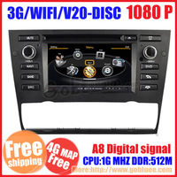 Car DVD player For BMW New 3 Series E90 E91 E92 E93 318i 320i 325i 320se 320D 325M 320 with GPS radio 3G wifi S100 audio video