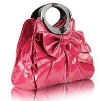 Women handbags totes women bag 2014 cross-body handbags dumplings PU dual-use package chromophous