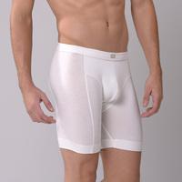 Plus size men's clothing modal ultra long trunk fat panties long panties male ride