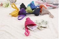 Free Shipping 10 Colors 2014 New Novelty One Zipper Dumplings Coin Purses/key wallets,2pcs/lot.A104