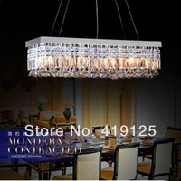 Top Sale 100% Guaranteed free Shipping Modern Crystal Chandelier K9 L 100* W 25cm ,send controller and LED