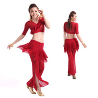 2014 Sale Seconds Kill Freeshipping Women All Code Bellydance Belly Dance Clothes Square Set Yarn S99 K99
