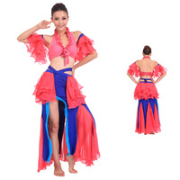 2014 Promotion Direct Selling Freeshipping Women Design And Color Bellydance Indian Dance Belly Set Costume - Quality Piece T003