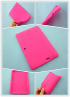 "7"" Silicone Case Cover For 7 inch allwinner A13  Android Tablet PC q88  50pcs /lot  DHL Free Shipping"