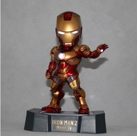 Ironman Original Marvel EGG ATTACK MK42 iron man,Free shipping toys Ironman action figure 18cm MK3 classic toy Superhero action