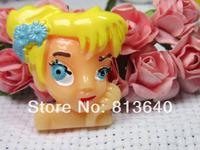 Free Shipping 50 PCS/Lots DIY Very Hot and Kawaii   Resin cabochons For  phones and photo frames DIY  Resin princess