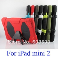 30pcs Shockproof Silicone Survivor military duty extreme case for iPad mini 2 Defender case for iPad mini Retina mini2