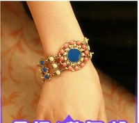 Bohemia vintage accessories flower caiyou personalized fashion exquisite bracelet 4136