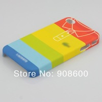100%New Unique Hard Back Case Cover Skin for Apple iPhone 4 4G 4S Plastic Case Free Shipping