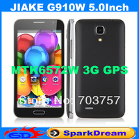 JIAKE G910W Phone With MTK6572W Dual Core Android 4.2 3G GPS WIFI 5.0 Inch Capacitive Screen Smart Phone