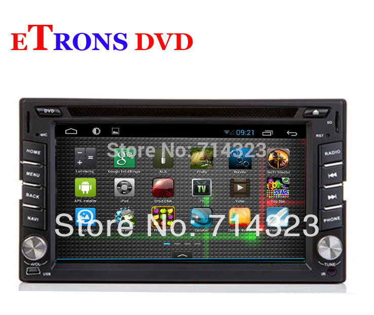Free shipping! 2 din Android 4.1 Car DVD player GPS+Wifi+Bluetooth+Radio+1GB CPU+DDR3+Capacitive Touch Screen+3G+car pc+stereo(China (Mainland))