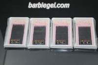 4cases/lot Thickness 0.2 C Curve  8/10/12/14mm MINK eyelash extension  High-grade artificial eyelash Fake False EyeLash Eyelashe