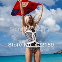 Free Shipping New Big Style Classic Designers Women One Pieces Swimwear Handmade Sexy Beachwears