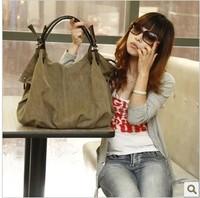K2 canvas bag new arrival women's bag big bag handbag shoulder bagfemale bags femal