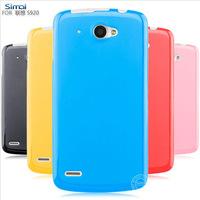 Free shopping for Lenovo S920 mobile phone case for lenovo s920 jelly silicone protective  shell