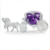 GAGA !Free shipping Fairy Tale carriage transparent wedding favour boxes , gift box , sweet box , IJ01