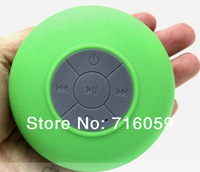DHL Free Shipping Novelty Waterproof Bluetooth Speaker Wireless Stero Handsfree Calling MIC Talking 4 Colors 24pcs/lot