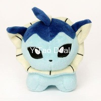 "Free shipping Pokemon Center Vaporeon 6"" Inch Poke Plush Figure Doll"