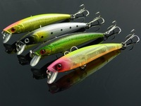 3D Minnow Fishing Lure Lucky Craft Hard Bait Fresh Water Deep Water Bass   Minnow Fishing Tackle 92mm/8.6g