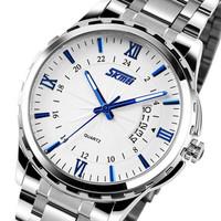 New Hot 2014 Skmei Watches Men Luxury Brand Design Military Sports Wristwatches Men Quartz Digital Fashion Watch Full Steel
