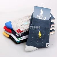 2014 Promotion Fashion Men's Sport socks,High quality Brand dress casual socks men fits for 40-44,mix color,10pcs=5pairs/lot