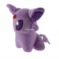"Free shipping 5"" Pokemon Glaceon Plush Doll ~NEW~ Espeon Doll Around 12cm"