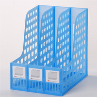 Quality transparent file bar box finishing frame document tray file holder file holder supplies stationery