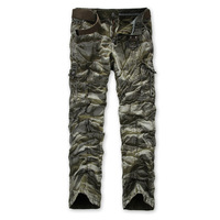 2014 New Spring Autumn Winter Camouflage Pants   Free shipping Men Casual Overall